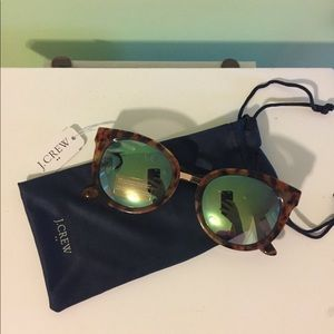 JCrew Sunglasses with Metal Detailing